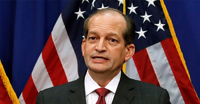BREAKING: Labor Secretary Acosta Stepping Down