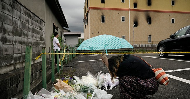 Dozens Killed In Japanese Arson Fire, Proving Guns Don't Cause Mass Murder