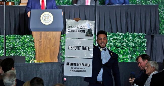Oh, Yes, Fox News' Geraldo Remembers Anti-Jewish Protestor Who Interrupted Trump's Jamestown Address