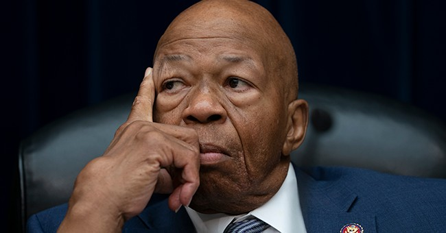 Elijah Cummings' Emperor's New Clothes Moment