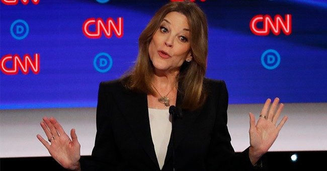 Marianne Williamson Is Way Out There, But She Won Tonight's Debate