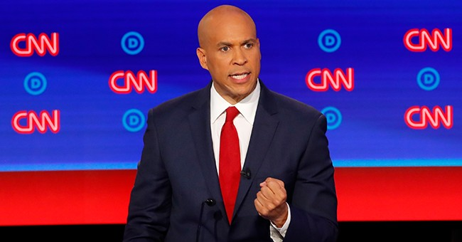 Cory Booker Can't Decide Whether President Trump Should Condemn White Supremacy