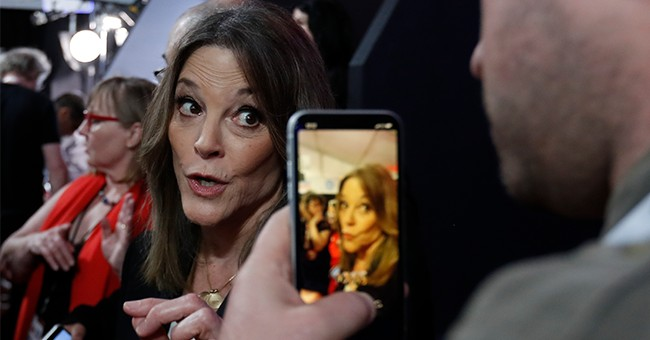 Marianne Williamson Deletes Her Tweet Protesting the Dem Establishment's 'Coup' Against Non-Radical Bernie