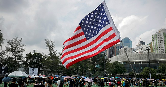 Flying the Flag Is a Secret Trump Handshake