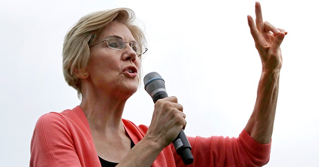 She Won't Give Up: Threatened by Bernie's Potential Massachusetts Manhandling, Warren Trashes the Competition
