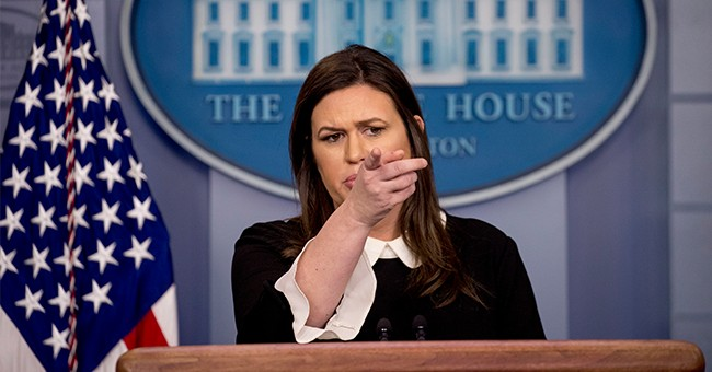 Sarah Sanders: So Hillary Will Be Arrested Now Right?