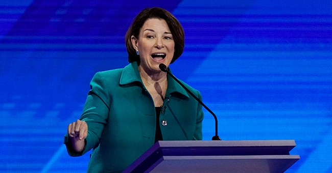 Klobuchar Pressed About that 'Questionable Evidence' in Case Where She Prosecuted a Teen