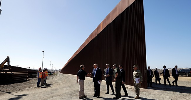 200 Miles of Border Wall and Counting