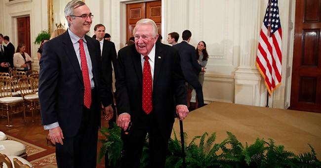 Donald Trump Honors Former US Attorney General Meese With Medal of Freedom
