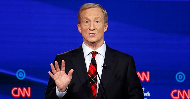 Ironic: Billionaire Tom Steyer Slams Fellow Rich People During First Debate Appearance