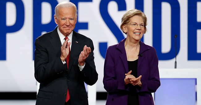 Warren, Biden, Sanders and that Big Rock Candy Mountain