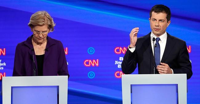 """2020 """"Moderates"""" Declare War on Warren"""