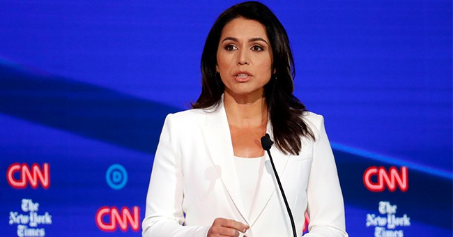 Grab the Popcorn: Gabbard Urges Her Opponents to Stand Up to the DNC