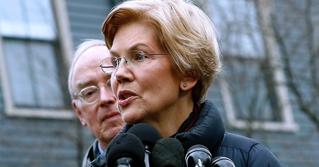 Warren Tells Supporters Trump May 'Not Even Be a Free Person' in 2020