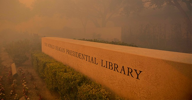 CNN Contributor Tweeted About The California Fires Closing In On The Reagan Library...It Ended Poorly
