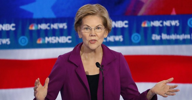 Elizabeth Warren Anoints Herself God