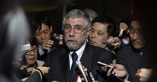 Paul Krugman Tries to Diagnose Liz Warren's Campaign Failures, Gets Sent to Burn Ward Instead
