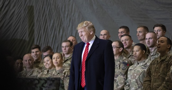 Trump Surprises Troops In Afghanistan On Thanksgiving Day