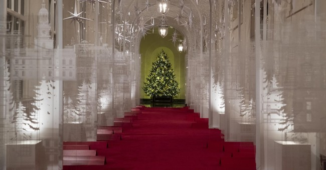 White House Hits Back at Media Criticisms of Melania Trump's Christmas Decorations