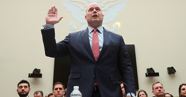 Matthew Whitaker to Testify Before House Judiciary Committee at 9:30am ET