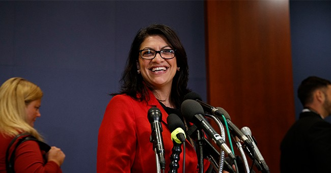 Remember: Tlaib Interrupted A Trump Speech To Business Leaders... All In The Name Of 'Doing Her Part'