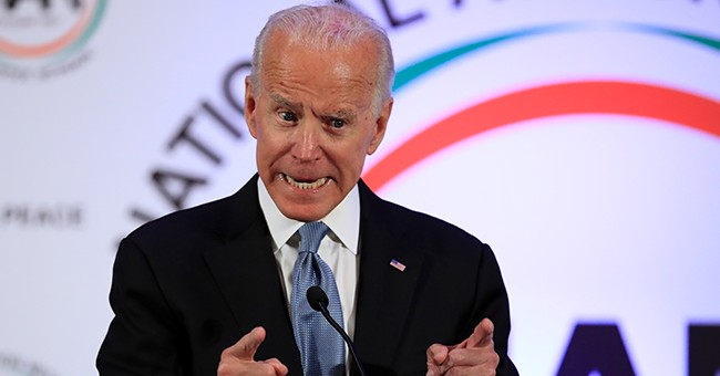 Joe Biden jokes about inappropriate touching during a speech