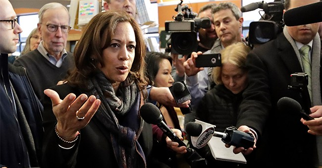 Progressive Columnist Thinks Kamala Harris' 2020 Run Should Be Canceled Because She Owns A Gun