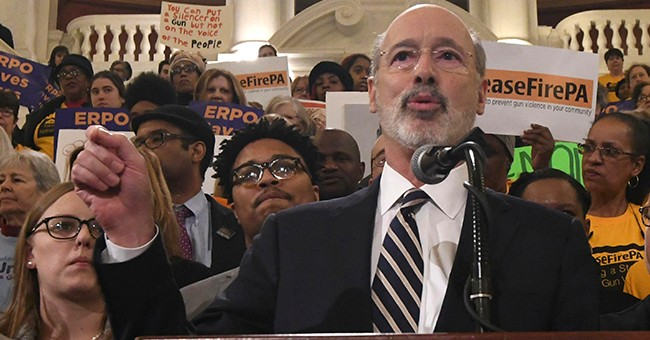 PA Gov Demands Gun Control 'For The Children' While Slashing Millions From School Security