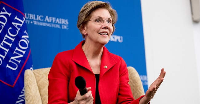 LOL: Fraudulent Native American Elizabeth Warren Weighs in on College Admissions Scandal