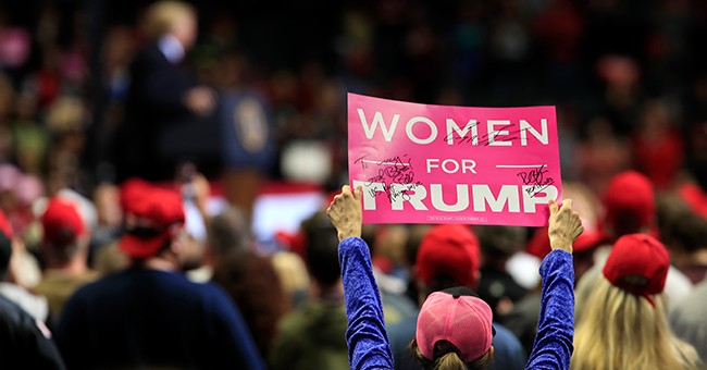 Women for Trump — There's No Conceding the 'Women's Vote' to Liberals in 2020