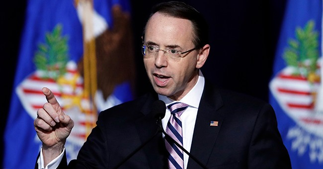 Rosenstein Blasts 'Partisan Pundit' Comey in Speech