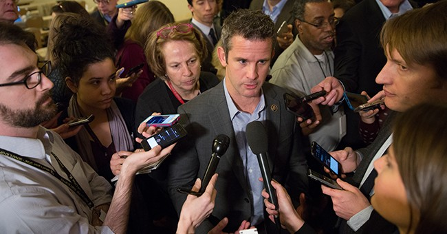 Rep. Kinzinger Calls Out CNN Over Questions Linking Mosque Shootings to Trump: You Can't Put This on Him