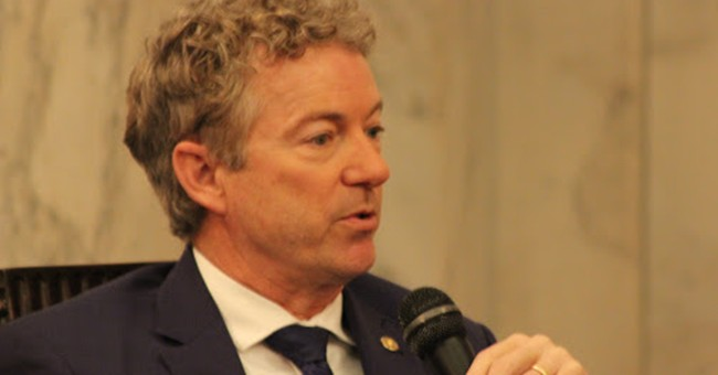 Sen. Rand Paul Reveals a Bill to Cut the President's Emergency Powers