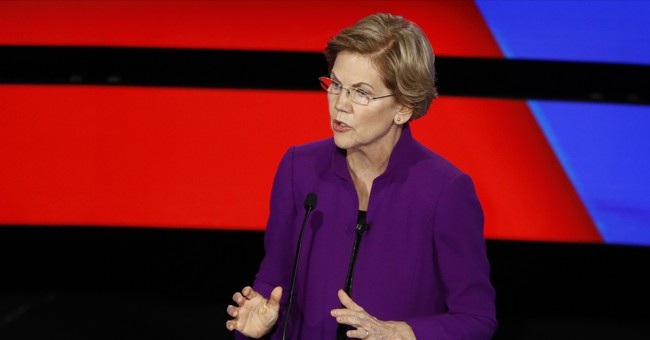 #NeverWarren Trends To Top Spot After Her Enormous Debate Fiasco