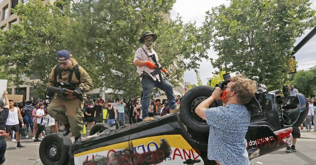 "No, Armed Citizens At Protests Aren't Opposing ""Anti-Racism"""