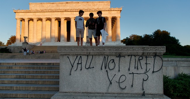 LOOK: Rioters Deface Beloved DC Monuments