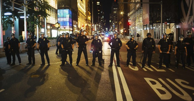 NYPD Cops Targeted in Post-curfew Attack