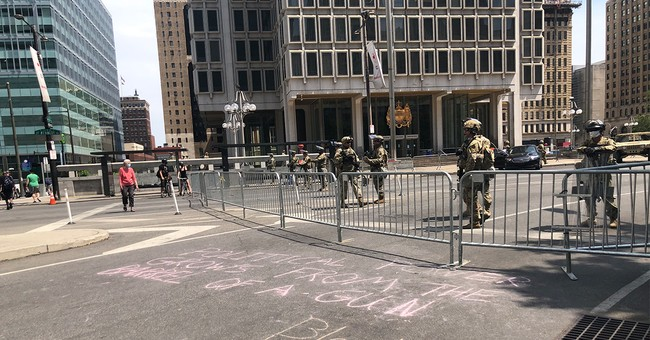'Nobody Takes America': Philly Woman Shuts Down Protestors Outside City Hall