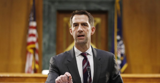 The Biden DOJ Nominee Sen. Cotton Says 'Must Be Stopped'