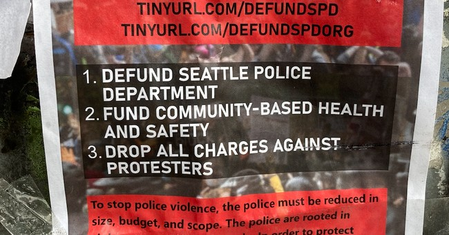 Seattle defund the police
