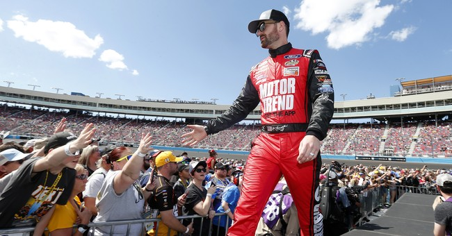 NASCAR Driver Corey LaJoie to Take 'Trump 2020' to the Racetrack