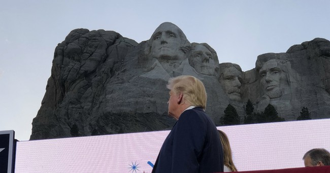 President Trump Gives Tribute to America From Mount Rushmore on the Eve of Independence Day