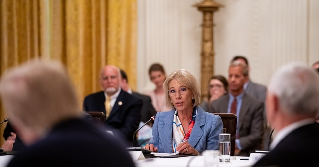 Secretary DeVos Joins Growing List of Resignations After Capitol Violence