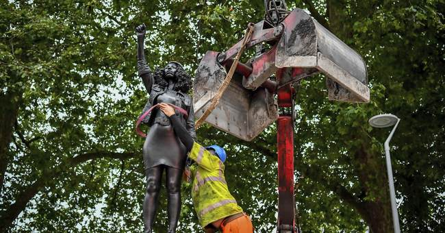 UK City Council Chooses Law Over Chaos: Removes Unsanctioned Protest Statue