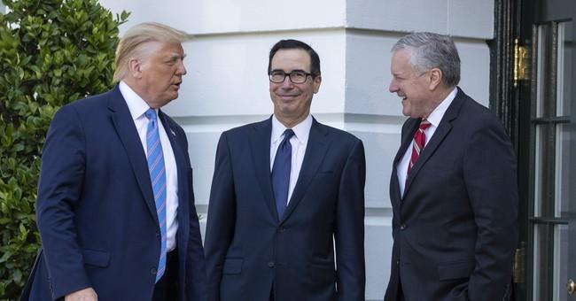 Mnuchin Warns Democrats To Think Twice Before Challenging Trump's Coronavirus Executive Orders