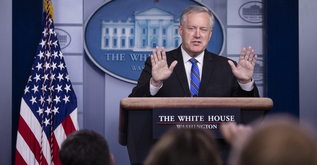 WH Chief of Staff Mark Meadows Tests Positive for Coronavirus