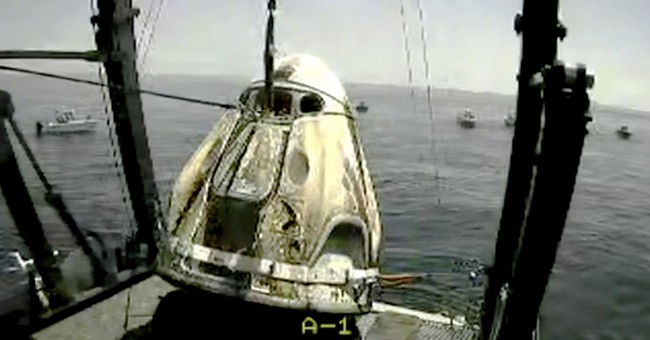WATCH: SpaceX Astronauts Splash Down in the Gulf of Mexico