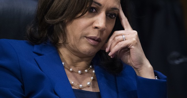 Kamala Harris says 'Oops'