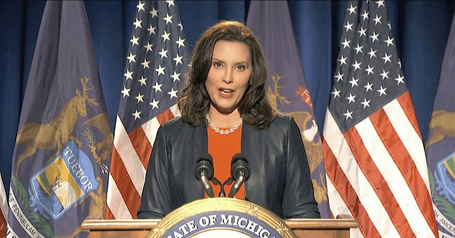 Gretchen Whitmer's State Is Overrun With a COVID-19 Surge, Guess Who She's Blaming