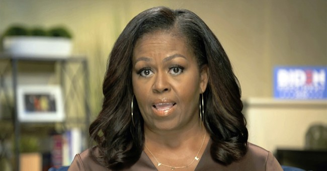 Michelle Obama Says 'It's Racist' for Trump to Paint BLM Protests as Violent